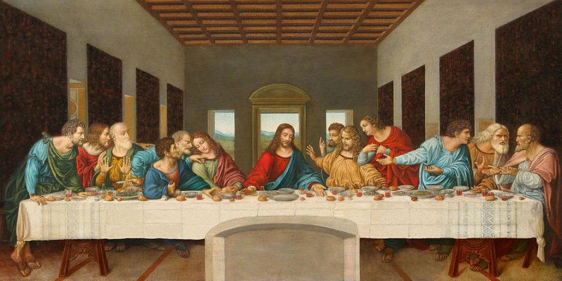 Da Vincis Last Supper painting in Milan